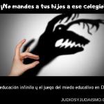 ¡No mandes a tus hijos a ese colegio! La educación infinita y el juego del miedo educativo en Chile